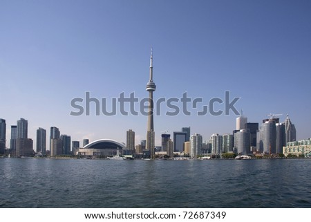 Toronto Daytime Coastline - stock photo