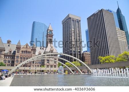 Toronto downtown - stock photo