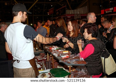 TORONTO â?? November 17, 2016: At the 22th Annual Gourmet Food and Wine Expo, held from Nov.17 to Nov.20, there were over 1500 wines, beers and spirits from around the World.