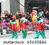 TORONTO - NOVEMBER 21: Unidentified  participants at Toronto's 106th annual Santa Claus Parade on November 21, 2010 in Toronto, Canada. - stock photo