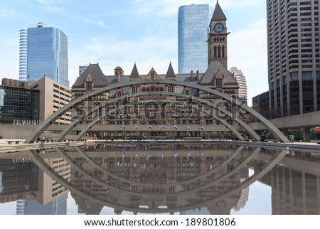 Toronto Old City Hall - stock photo