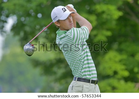 TORONTO, ONTARIO - JULY 21: U.S. golfer Charles Howell III during a pro-am event at the RBC Canadian Open golf on July 21, 2010 in Toronto, Ontario. - stock photo