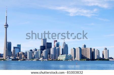Toronto Skyline, Canada - stock photo