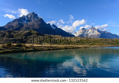 Torres del Paine is a national park in the Extreme South region of Patagonian Chile. It is located in the southern tiers of the Andes and features mountains, lakes and glaciers.