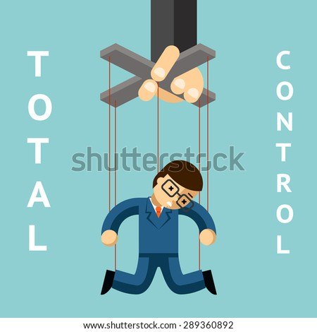 Controlling Person Clipart
