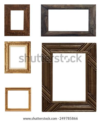 Total frame series  - stock photo