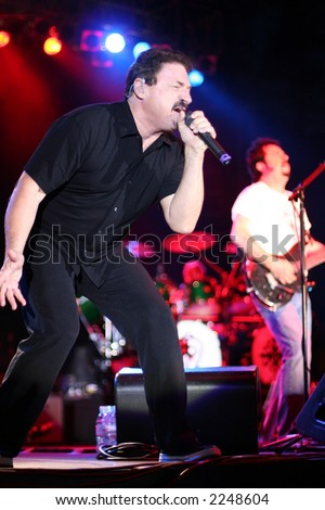 Toto Band Member and Lead Singer Bobby Kimball Performs
