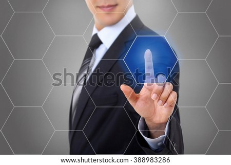 Touch screen honeycomb