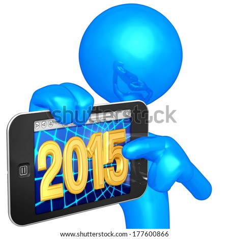 Touch Screen Mobile Device - stock photo