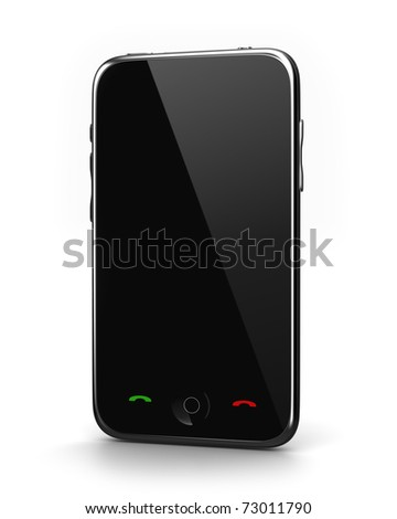 Touch screen Phone - stock photo