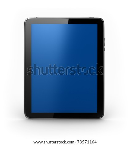 Touch Tablet PAD Computer - stock photo