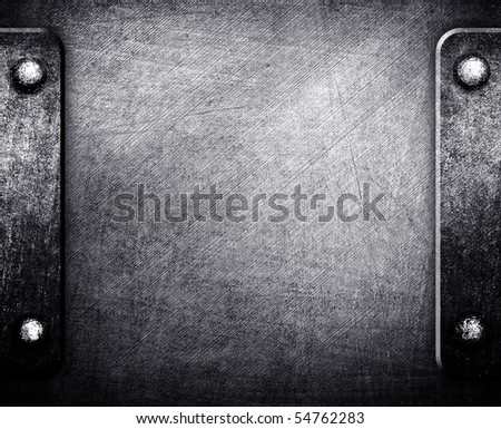 tough metal plate