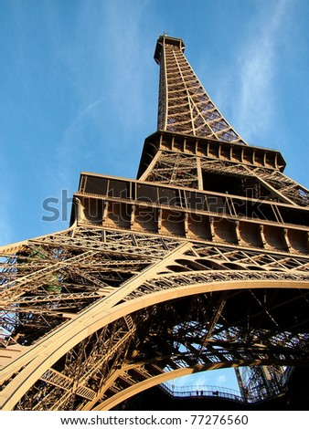 Tour Eiffel - Paris - stock photo