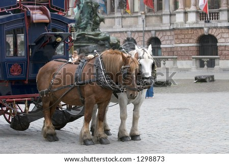 Tourist Transport in Antwerp, Belgium