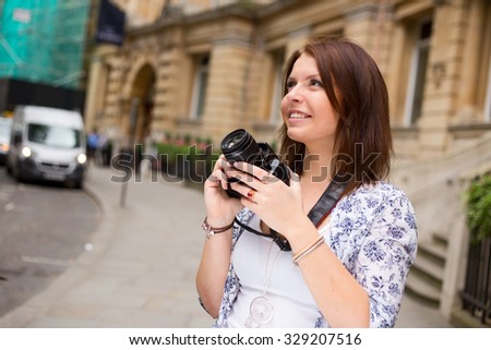 tourist with a camera