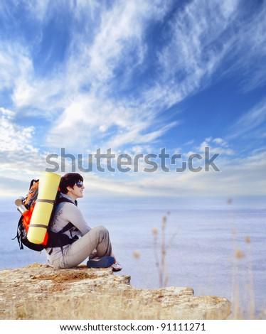 touristas - stock photo