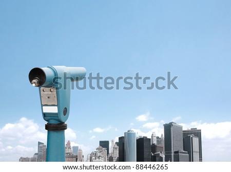 Touristic NYC - stock photo