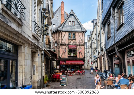 Tours France July View Stock Photo Shutterstock - France tours
