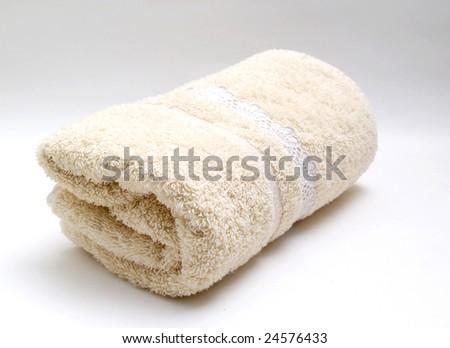 towel - stock photo