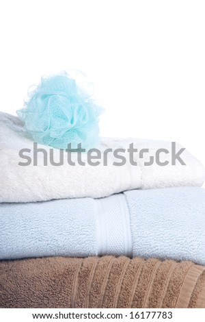 Towels and Loofah