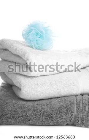 Towels with Loofah