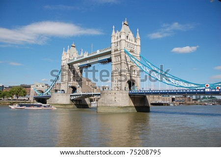 Tower Bridge is a London attraction