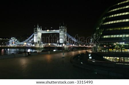 Tower Bridge- London - stock photo