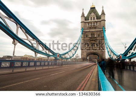 Tower Bridge London, England - stock photo