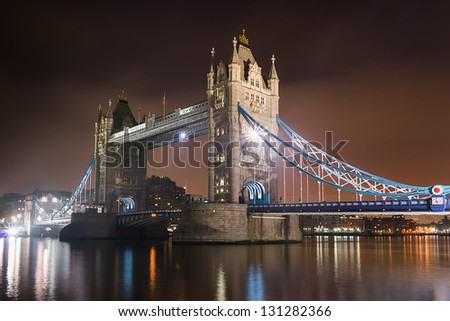 Tower Bridge of London. - stock photo