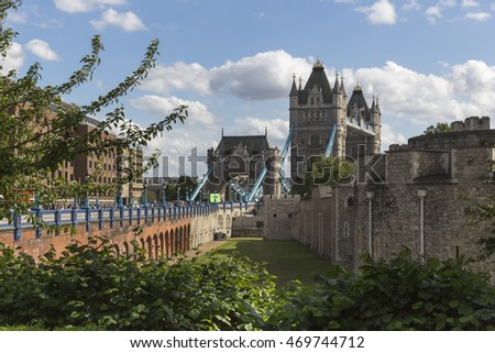 Tower Bridge, Tower, London, England