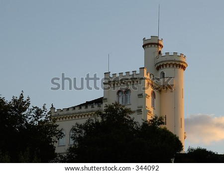 Tower Castle - stock photo