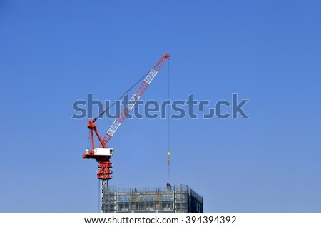 Tower cranes: Luffing jib tower cranes