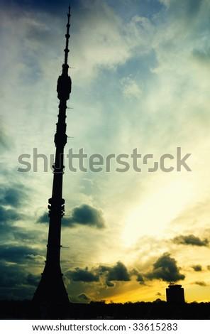 Tower height - stock photo