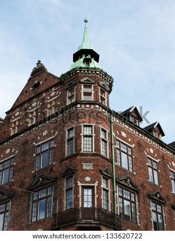 Tower in Copenhagen. - stock photo