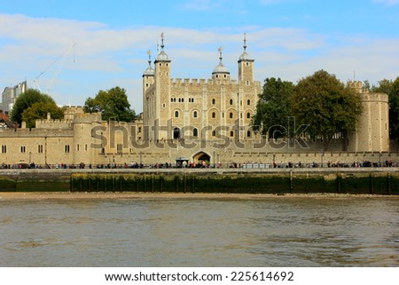 tower of london, uk - stock photo