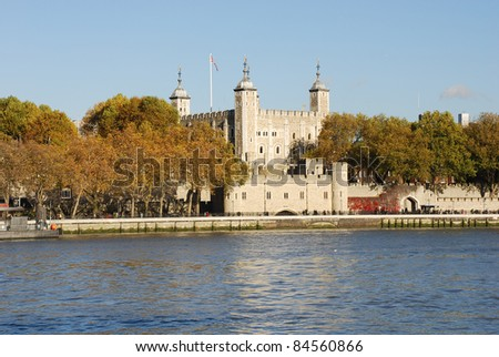 Tower of London, United kingdom - stock photo