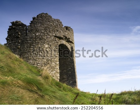 Tower, Rock of Dunamase Castle, County Laois, Ireland