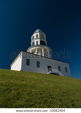 Town Clock, Halifax NS Canada - stock photo
