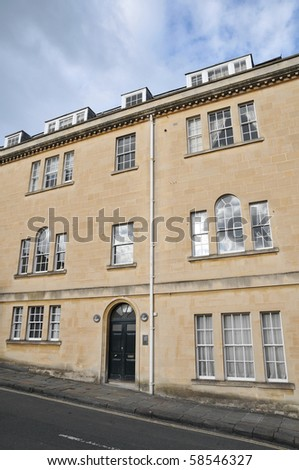 Town House Exterior - stock photo