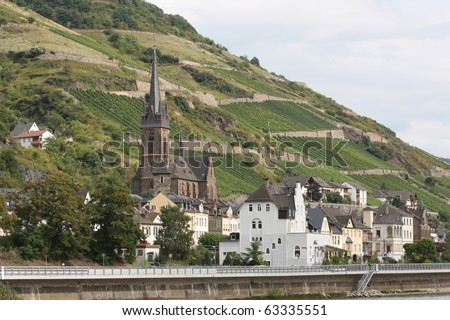 Town of Lorchhausen, Germany