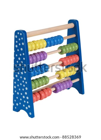 Toy Abacus - stock photo
