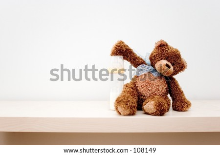 Toy bear - stock photo