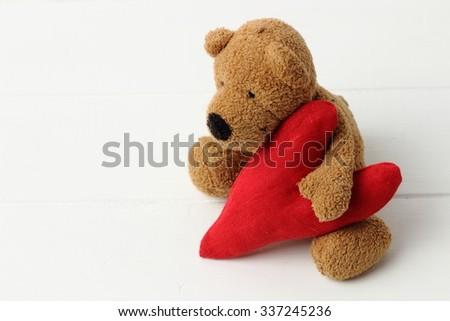 Toy bear - stock photo