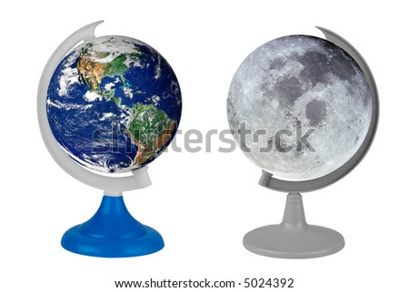 Earth Toys Toy Globe With The Real Earth