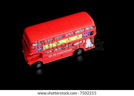 toy omnibus - stock photo
