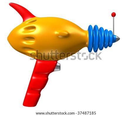 Toy Phaser Gun - stock photo