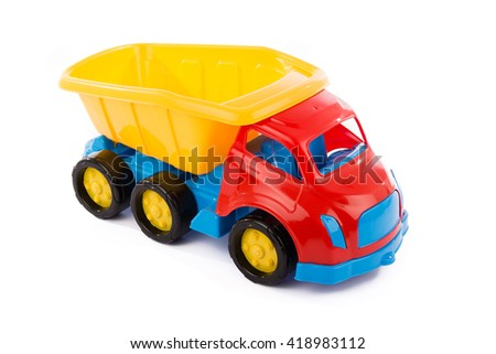 toy truck - stock photo