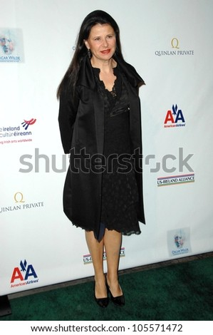 Tracey Ullman at the US-Ireland Alliance Pre Academy Awards Gala. Ebell Club, Los Angeles, CA. 02-19-09 - stock photo