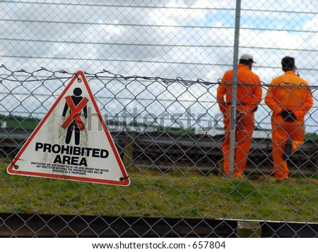 Track technicians - stock photo