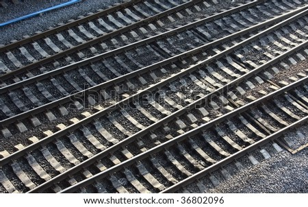 Tracks (top view)